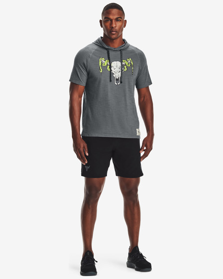 Under Armour Project Rock Charged Cotton® Tričko